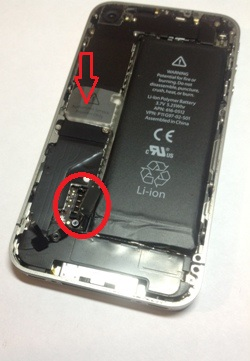 сколько стоит замена батареи iphone 4s