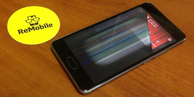 Не работает тачскрин низа экрана смартфона