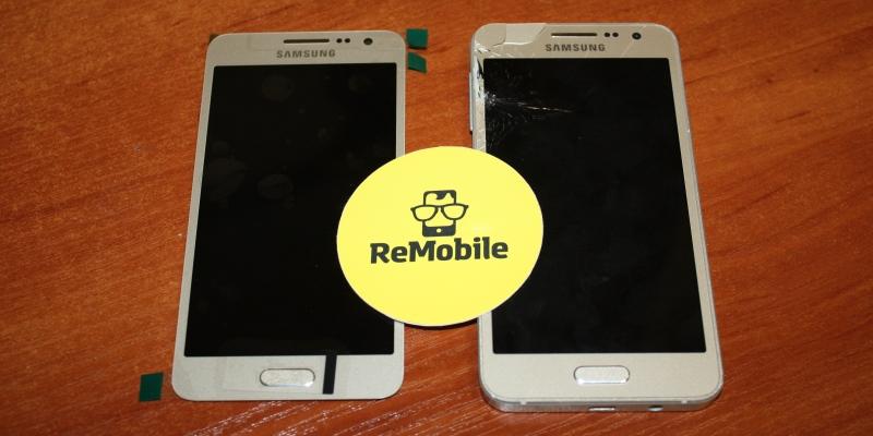 разбился экран Samsung A3