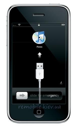 замена прошивки в iphone