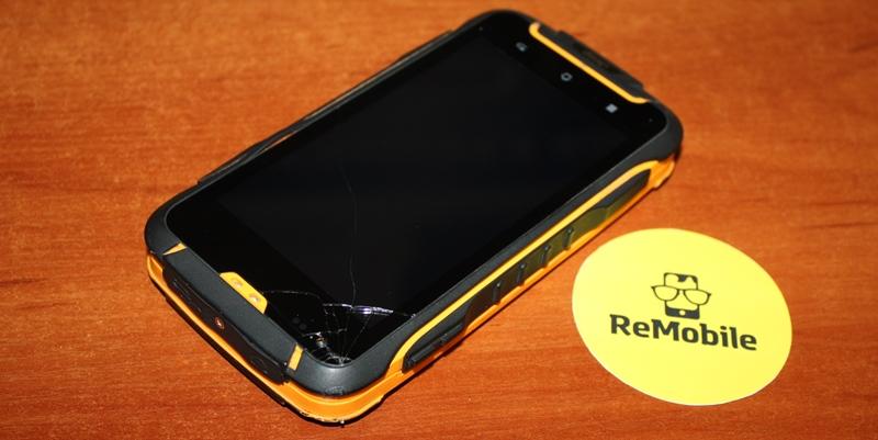 Разбился сенсор на противоударном телефоне