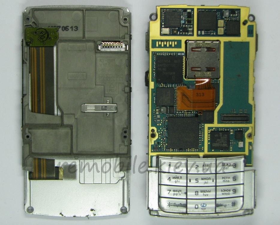 Замена шлейфа nokia N95