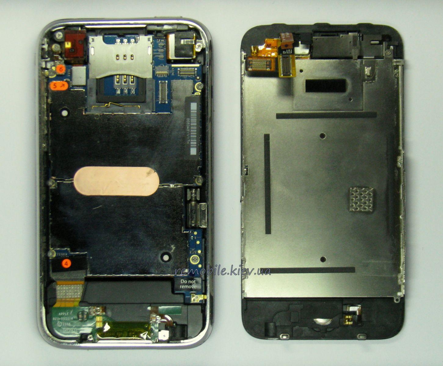 iphone 3gs замена экрана