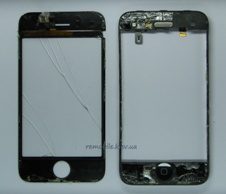 замена стекла сенсора на iPhone