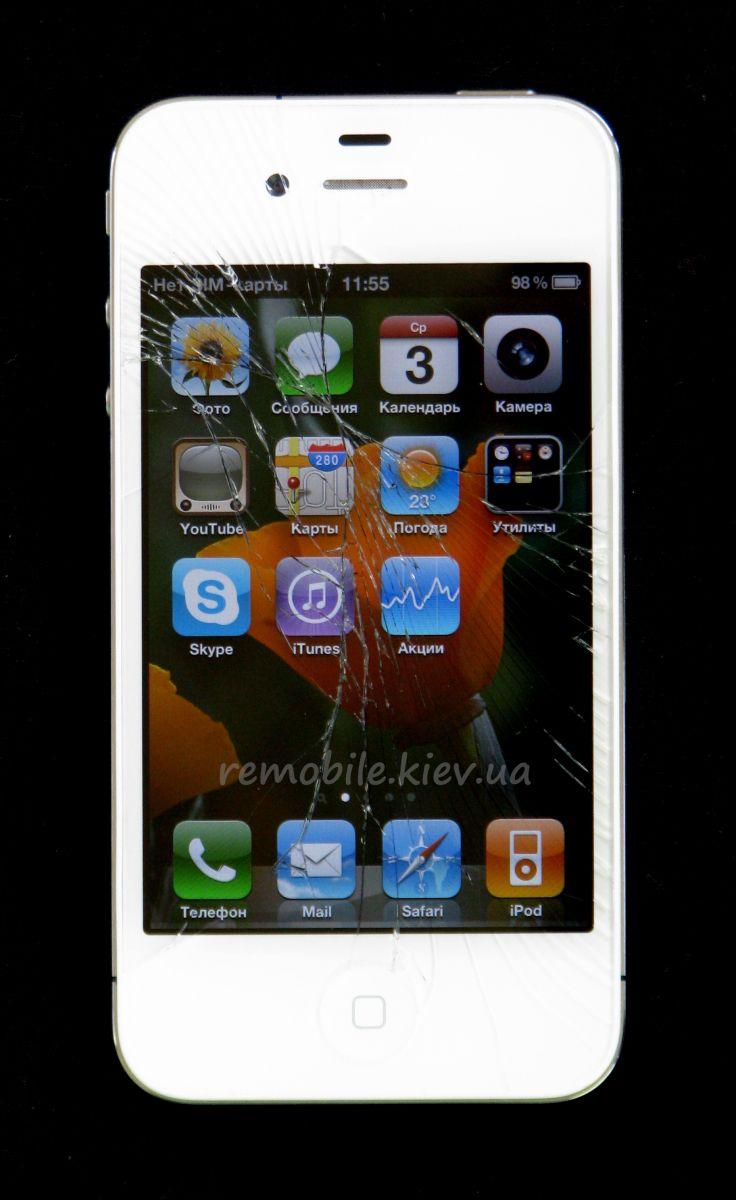 замена дисплея iphone 4 киев