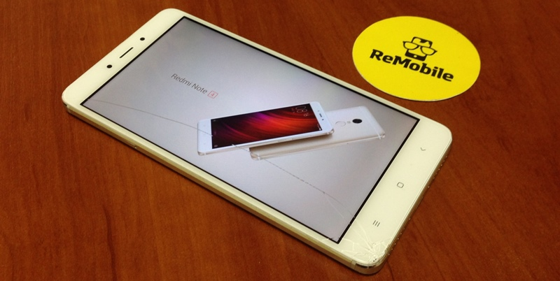 Замена стекла Redmi Note 4 в Киеве