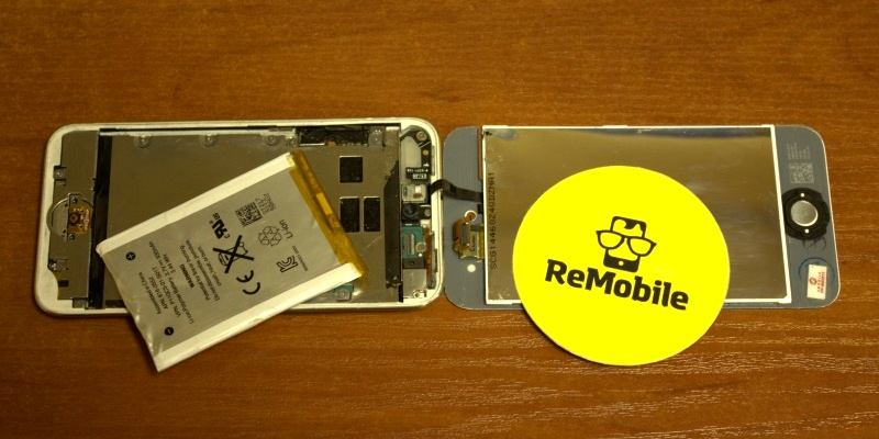 замена батареи на ipod touch