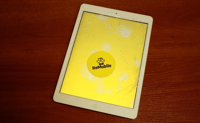Замена стекла iPad в Киеве