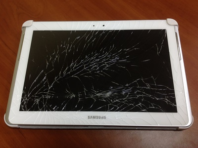 Замена стекла на экране планшета ремонт мобильного телефона voxtel